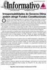 Irresponsabilidades do Governo Dilma podem atingir Fundos Constitucionais